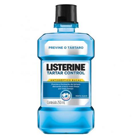 Antisséptico Bucal Listerine Tartar Control 250ml