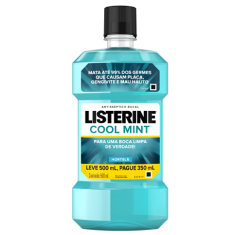 Antisséptico Bucal Listerine Cool Mint 500ml