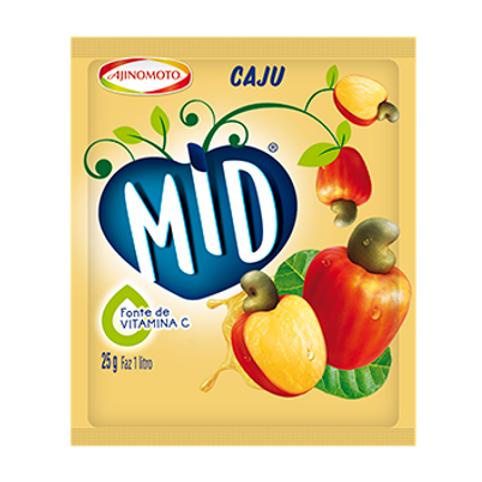 Refresco de Caju MID 25gr