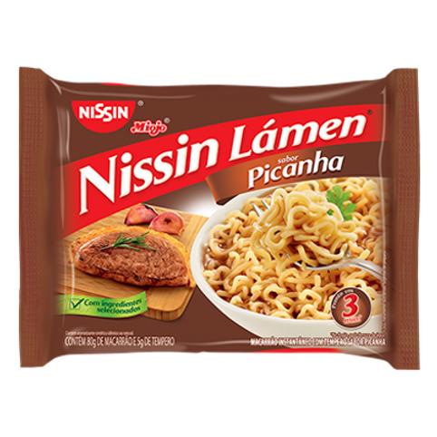 Macarrão Instantâneo NISSIN Lámen Picanha 85g