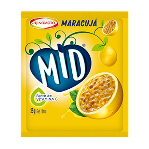 Refresco de Maracujá MID 25gr