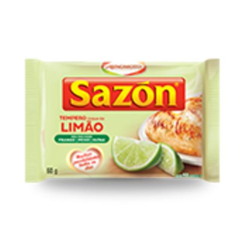 Tempero Sazon Toque de Limão 60 GR
