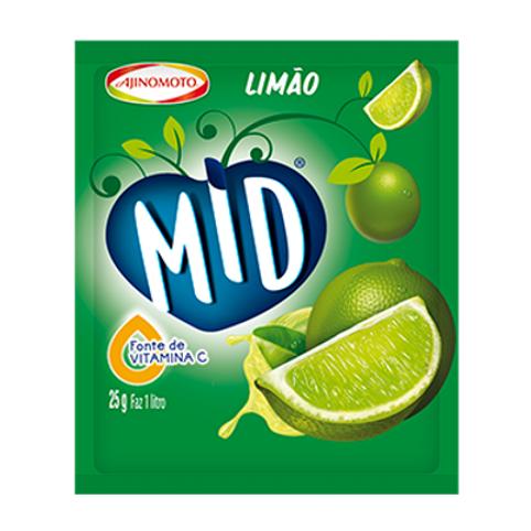 Refresco de Limão MID 25gr