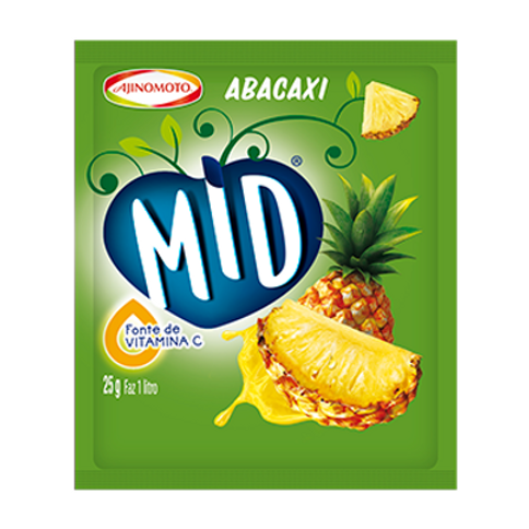 Refresco de Abacaxi MID 25gr