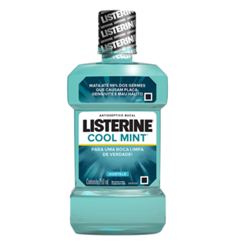 Antisséptico Bucal Listerine Cool Mint 250ml