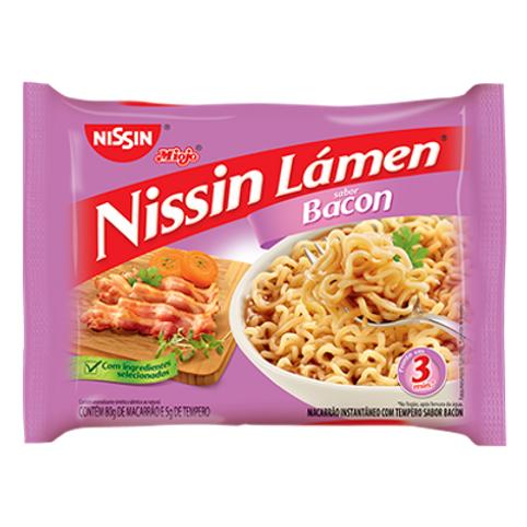 Macarrão Instantâneo NISSIN Lámen Bacon 85g