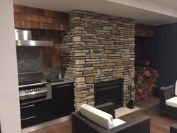 Southern ledgestone Aspen Fireplace 6
