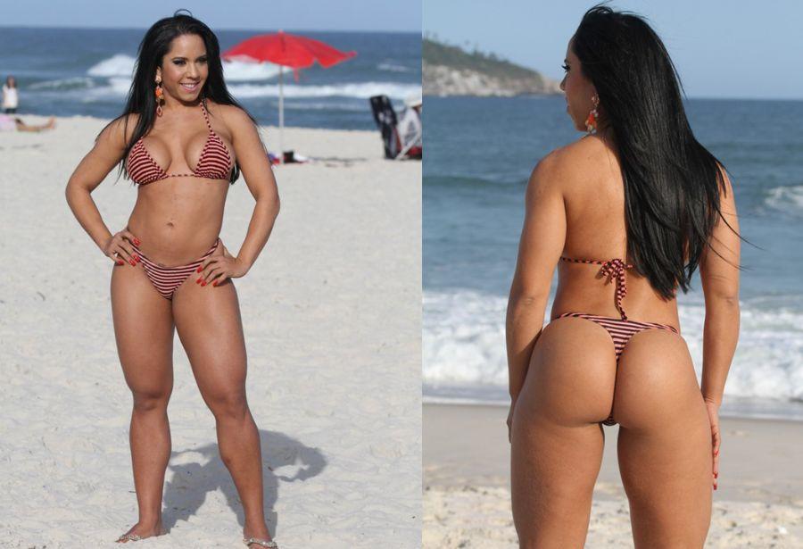 Mulher melao de bikini fio dental - insinuant magazine blog - belas brasileiras