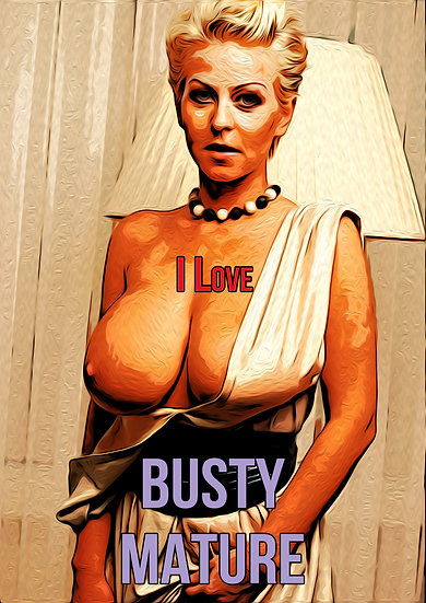 Poster - Busty mature