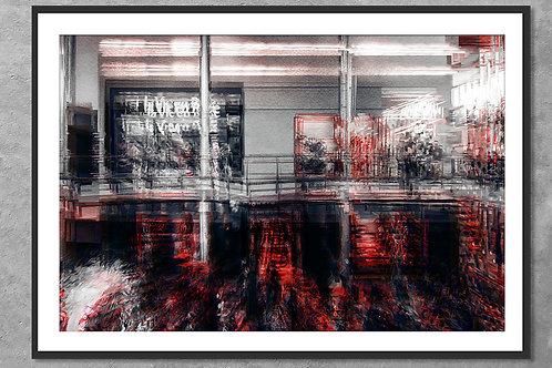 El Mall en Punta Pacífica   Arte Abstrata