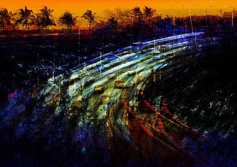 Ruas do caribe | Abstrato | lugares | Arte moderna