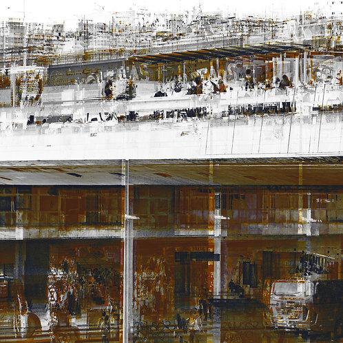 Capital Abstrata | Rodoviaria #1 | Arte Abstrata