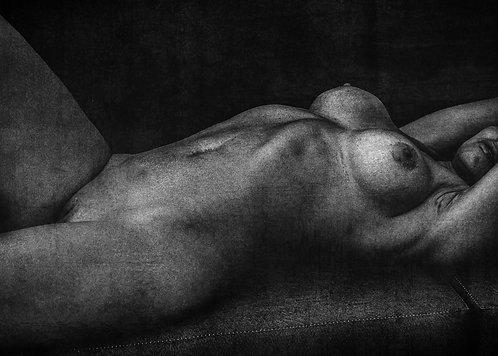 A sombra da beleza feminina | Fine Art Nude Print | Nude Wall Art