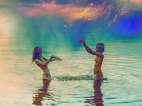 As meninas no paraíso | Fine Art Nude Print | Nude Wall