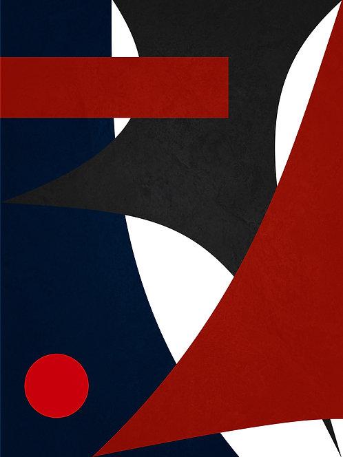 Arte Abstrata - Formas e Contrastes