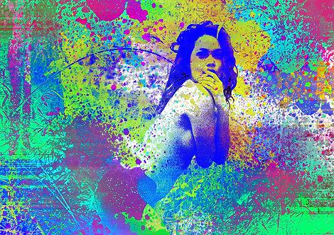 Mergulho em cores   Mulheres   Arte moderna