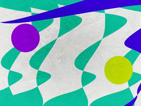 Vibrações | Abstrato | Arte moderna