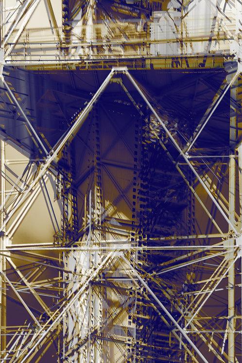 Capital Abstrata | Torre TV | Arte Abstrata