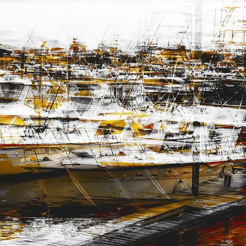 A Marina | 110x110cm