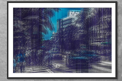 Miami Beach #2 | Arte Abstrata