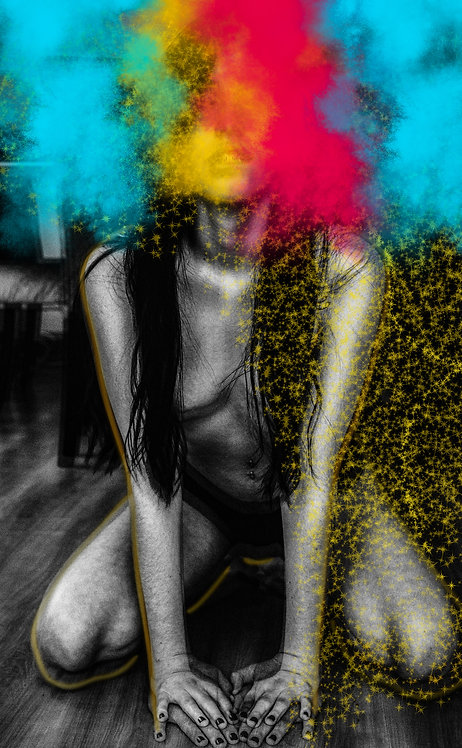 Lollyta Colorida | Fine Art Nude Print | Nude Wall