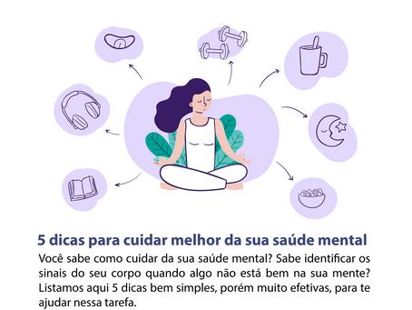 5 dicas para cuidar melhor da sua saúde mental