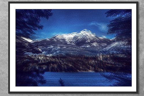 Lembranças de Bariloche | Arte Abstrata