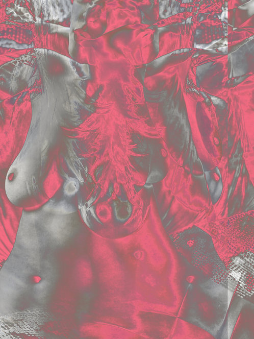 Nude Pink | Abstrato | Arte moderna