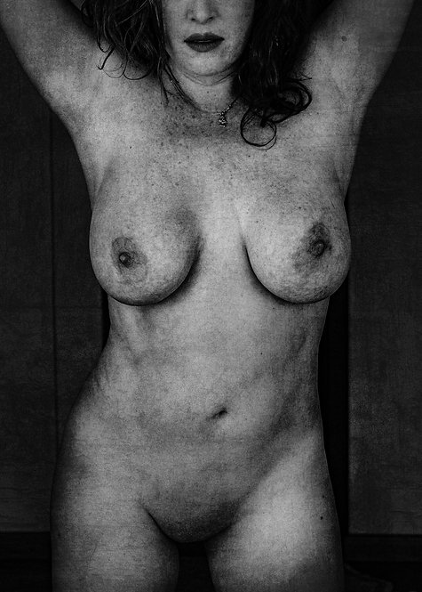 The curves of the mysterious lady #1   Fine Art Nude Print   Nude Wall