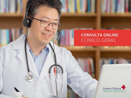 Consulta Online com Clínico Geral