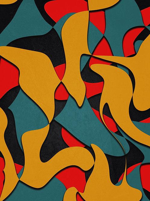 Contrastes modernos | Abstrato | Arte moderna