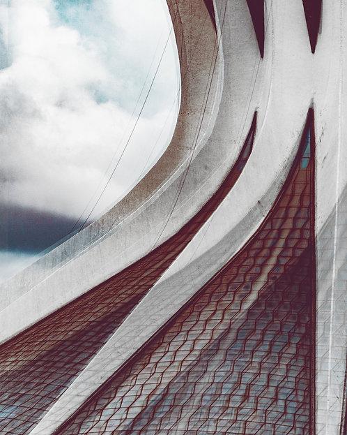 Curvas da Catedral | 90 x 72cm
