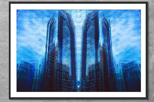 Reflexos de Punta Pacífica | Arte Abstrata