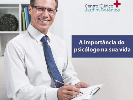 A importância do psicólogo na sua vida