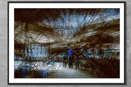 Lembranças das tardes de Casco Viejo   Arte Abstrata
