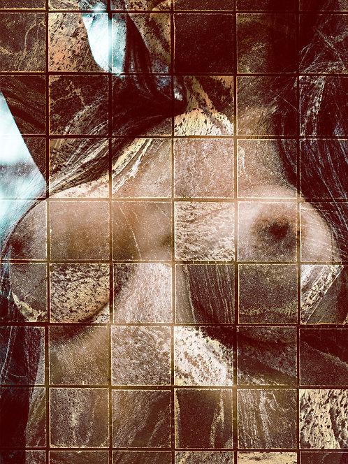 Nudez entre linhas   Abstrato   Arte moderna