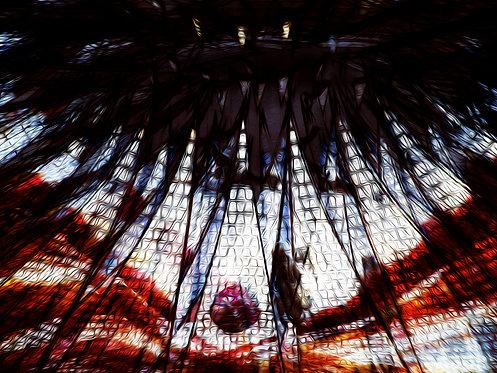 A catedral | Abstrato | Arte moderna
