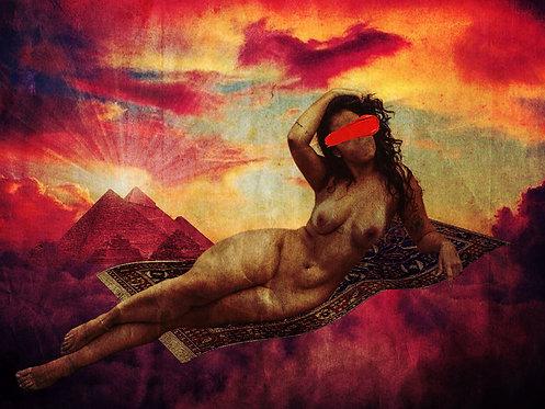 The Goddess | Fine Art Nude Print