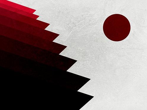 Red Point | Abstrato | Arte moderna