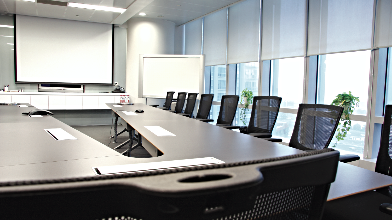 Boardroom conference AV installation