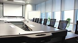 Boardroom conference AV installation