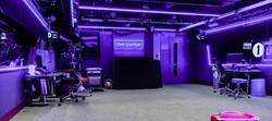 Broadcast TV studio lighting install