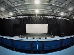 School sports hall av theatre