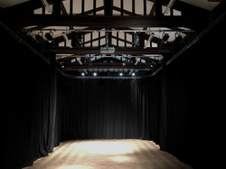 Drama studio lighting installation