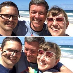 Con Craig y Les