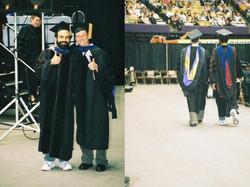 Daniel graduated! So long ago.