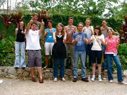 When Pete, Luke, Florencia, Andrea, Zoe, Juan Diego, Greg, and Alicia were in the lab!