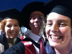 Honours graduations!