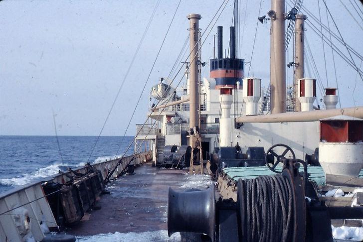 After deck on Mancester Mariner