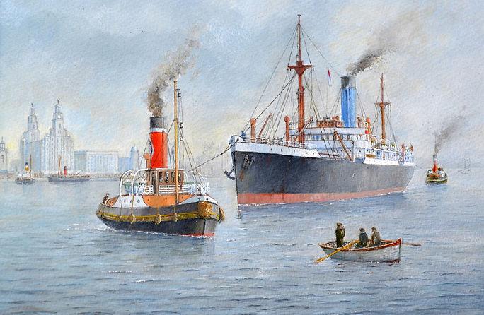 .Tug &Tow off Birkenhead
